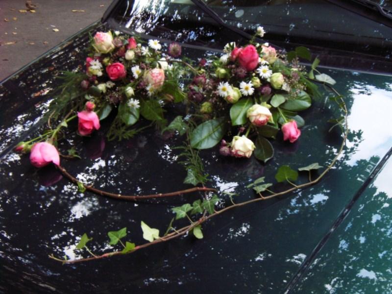 Anna Blumenladen Autoschmuck Hochzeit Berlin